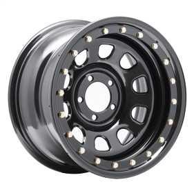 Rock Crawler Series 252 Black D-Window Wheel 252-5185