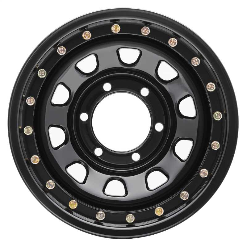 Rock Crawler Series 252 Black D-Window Wheel 252-5883