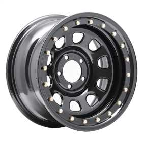 Rock Crawler Series 252 Black D-Window Wheel 252-5885
