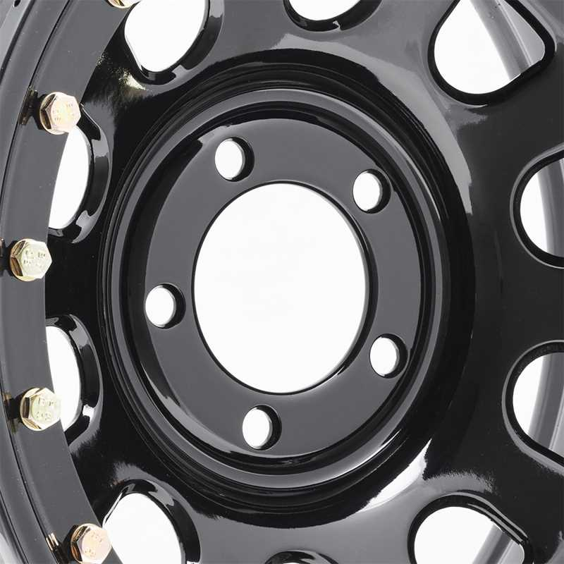 Rock Crawler Series 252 Black D-Window Wheel 252-5885