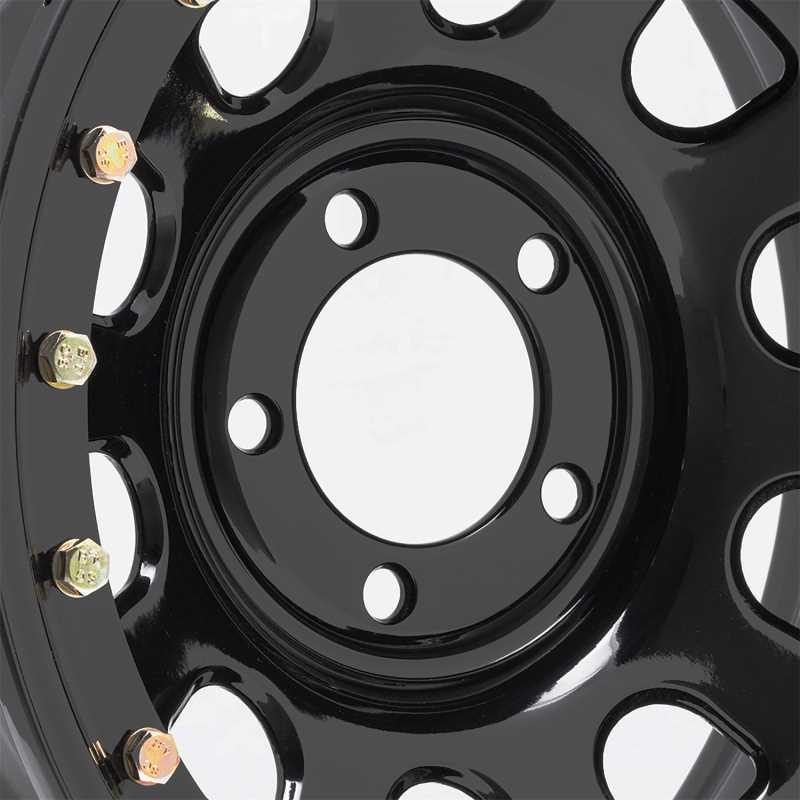 Rock Crawler Series 252 Black D-Window Wheel 252-5885F