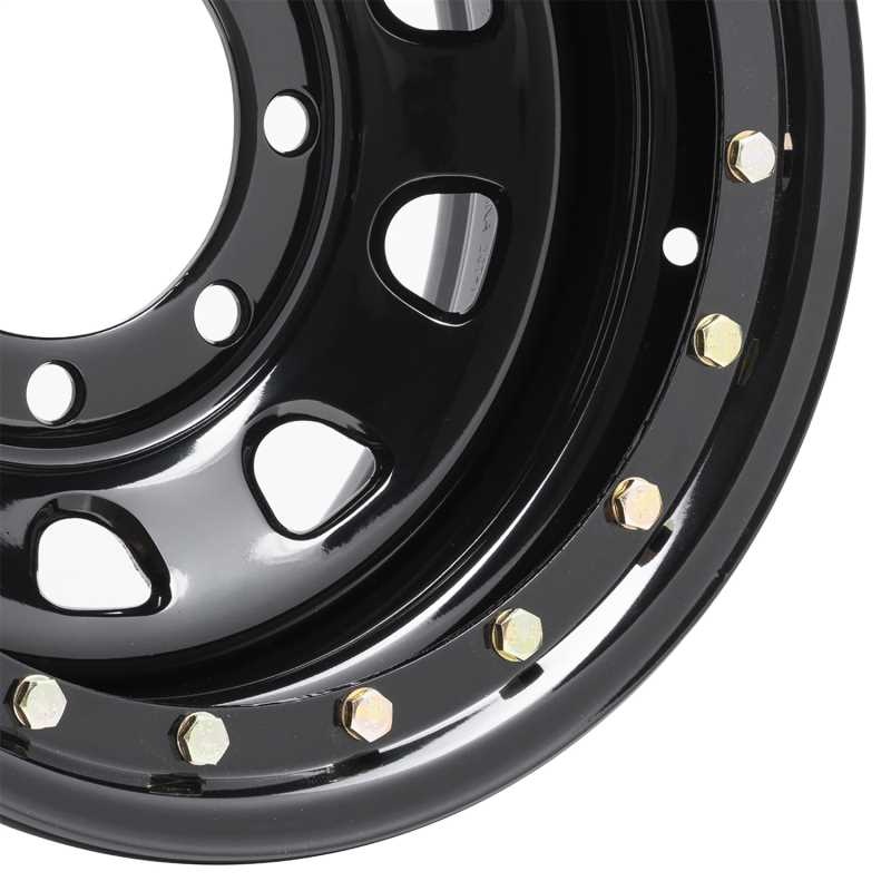 Rock Crawler Series 252 Black D-Window Wheel 252-6181