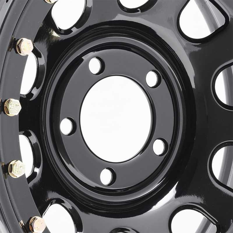 Rock Crawler Series 252 Black D-Window Wheel 252-6866