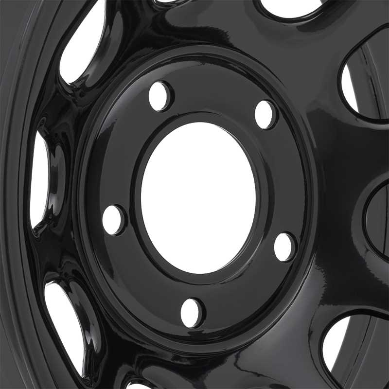 Rock Crawler Series 51 Black Wheel 51-5865F