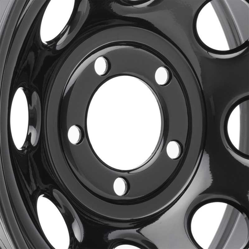 Rock Crawler Series 97 Black Monster Mod Wheel 97-5165