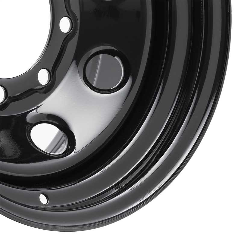 Rock Crawler Series 97 Black Monster Mod Wheel 97-6881