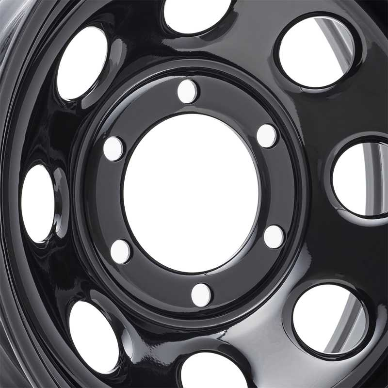 Rock Crawler Series 97 Black Monster Mod Wheel 97-7983