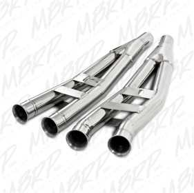 Snowmobile Front Header Y Pipe