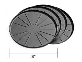 Round Coaster Set 8A8CSTBK