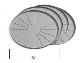 Round Coaster Set 8A8CSTGR
