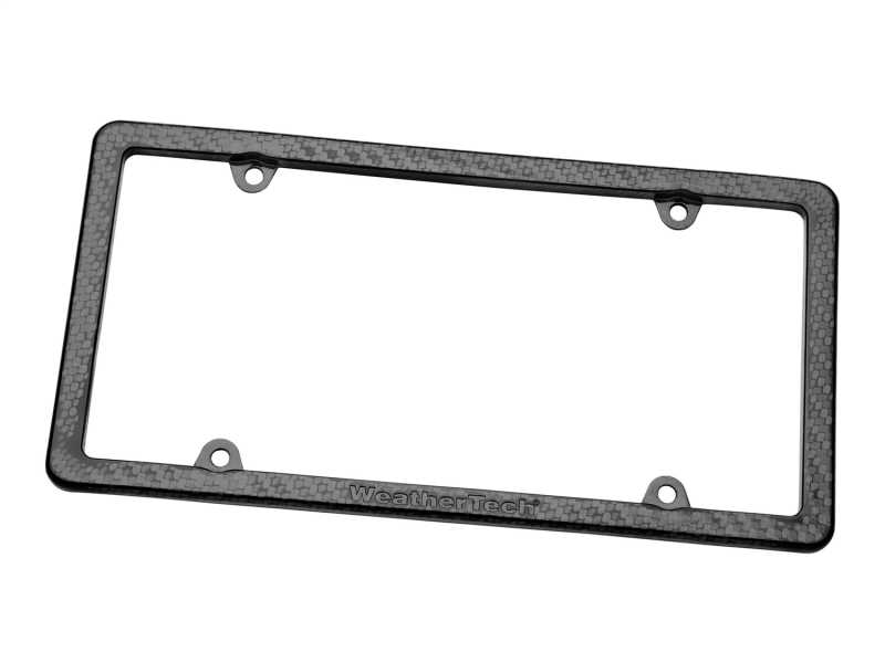 Carbon Fiber License Plate Frame 8ALPCF4