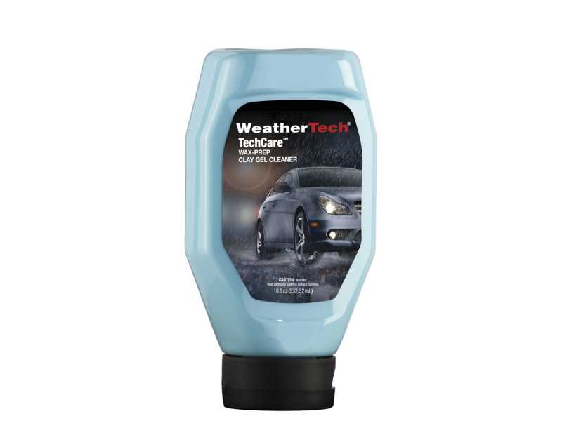 TechCare Wax Prep Clay Gel Cleaner 8LTC11K