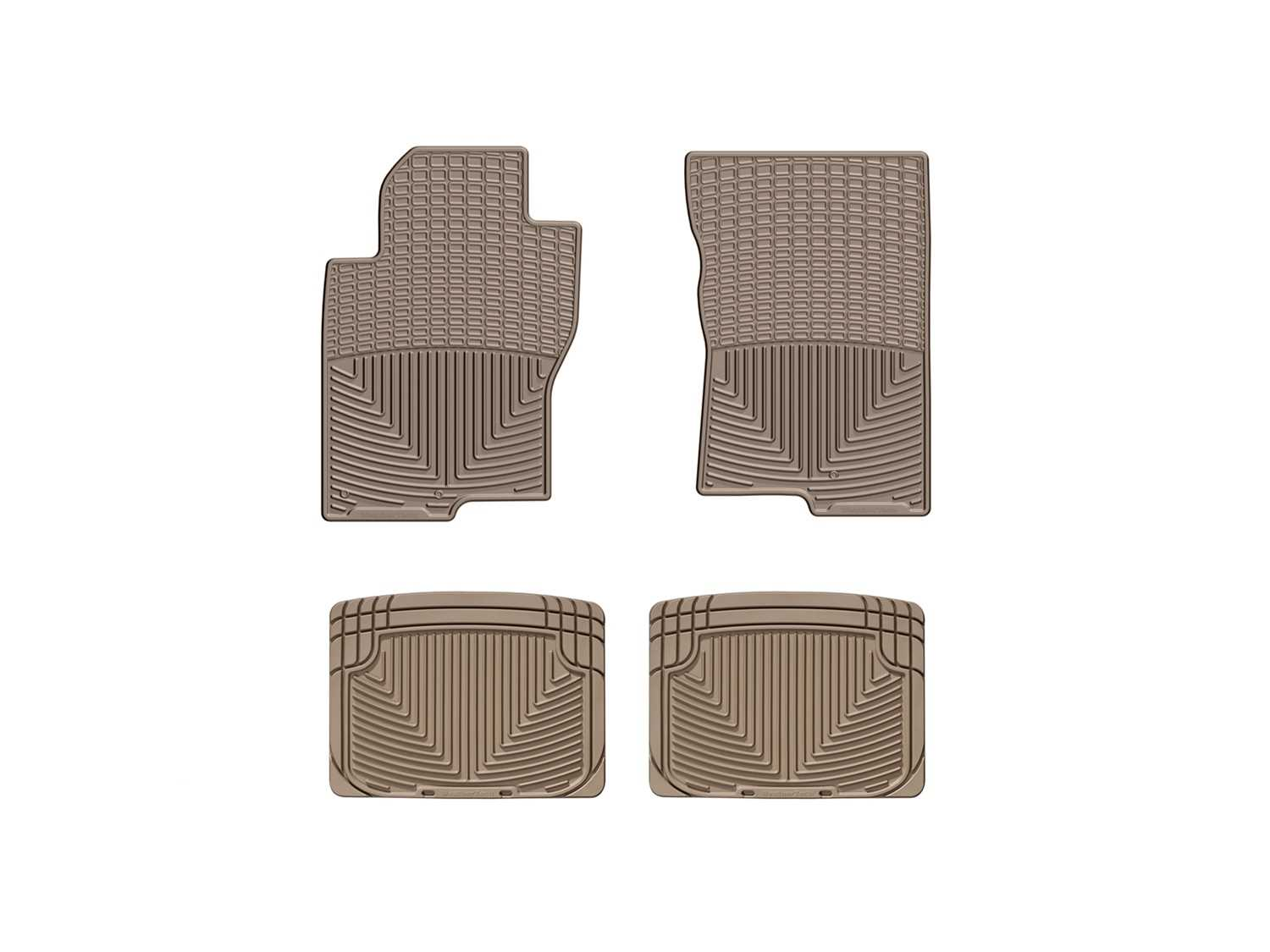 W222TN-W20TN WeatherTech All Weather Floor Mats