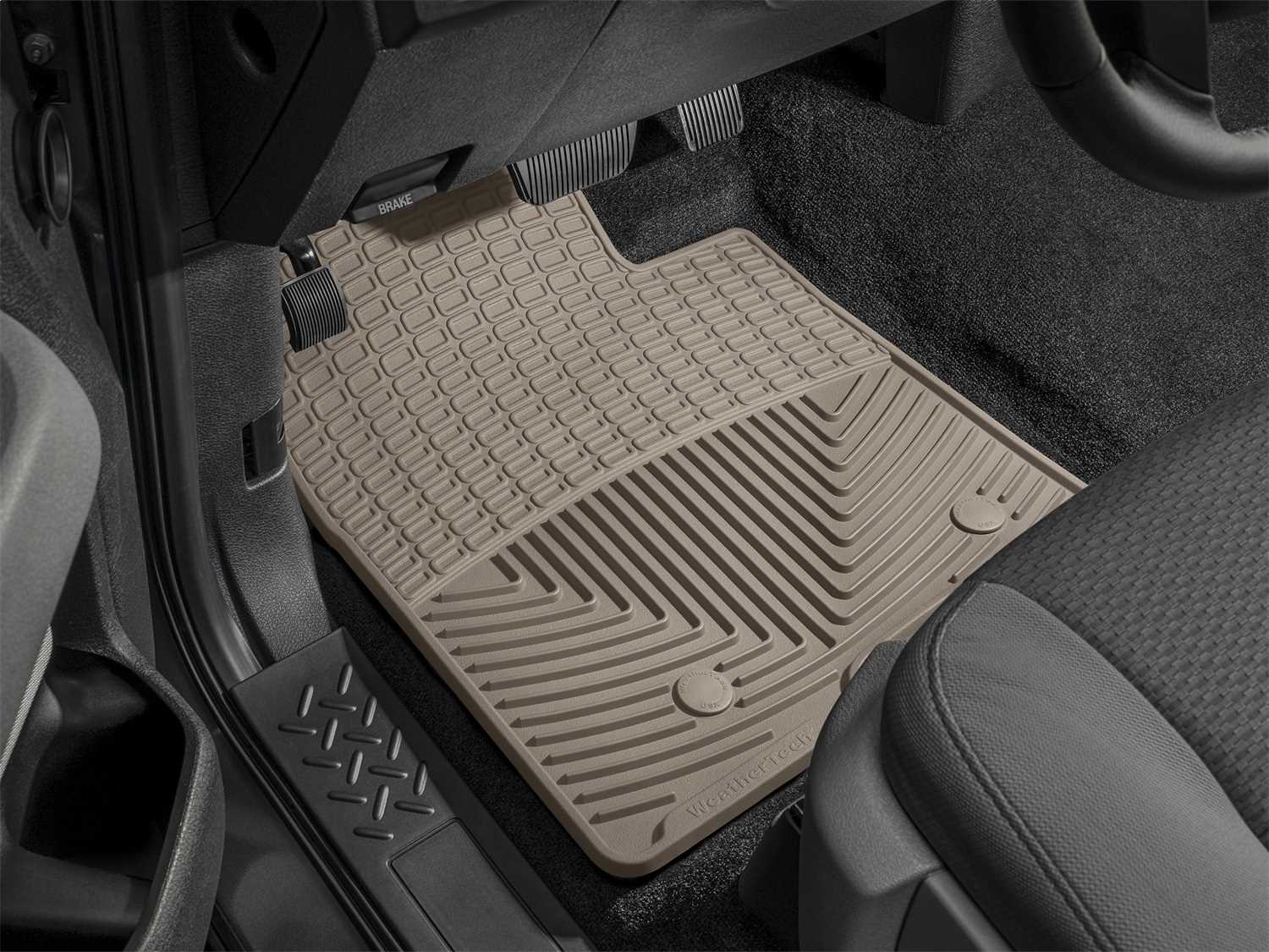 WTFT408409 WeatherTech All Weather Floor Mats