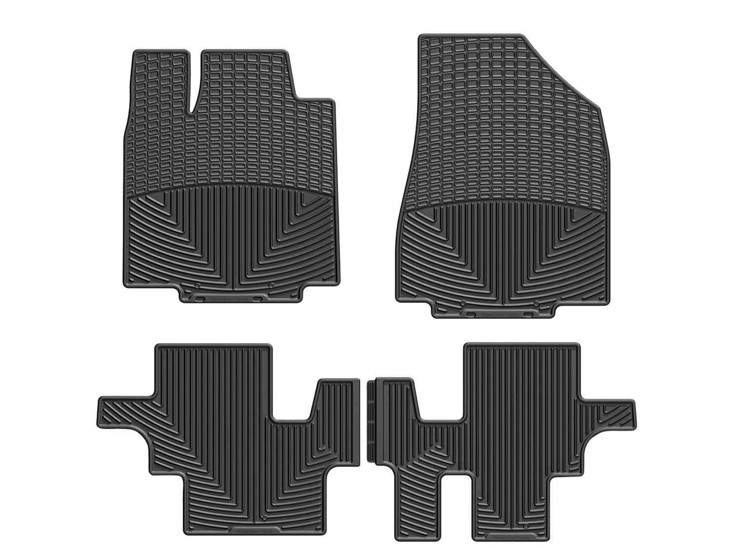 WTCB996080 WeatherTech All Weather Floor Mats