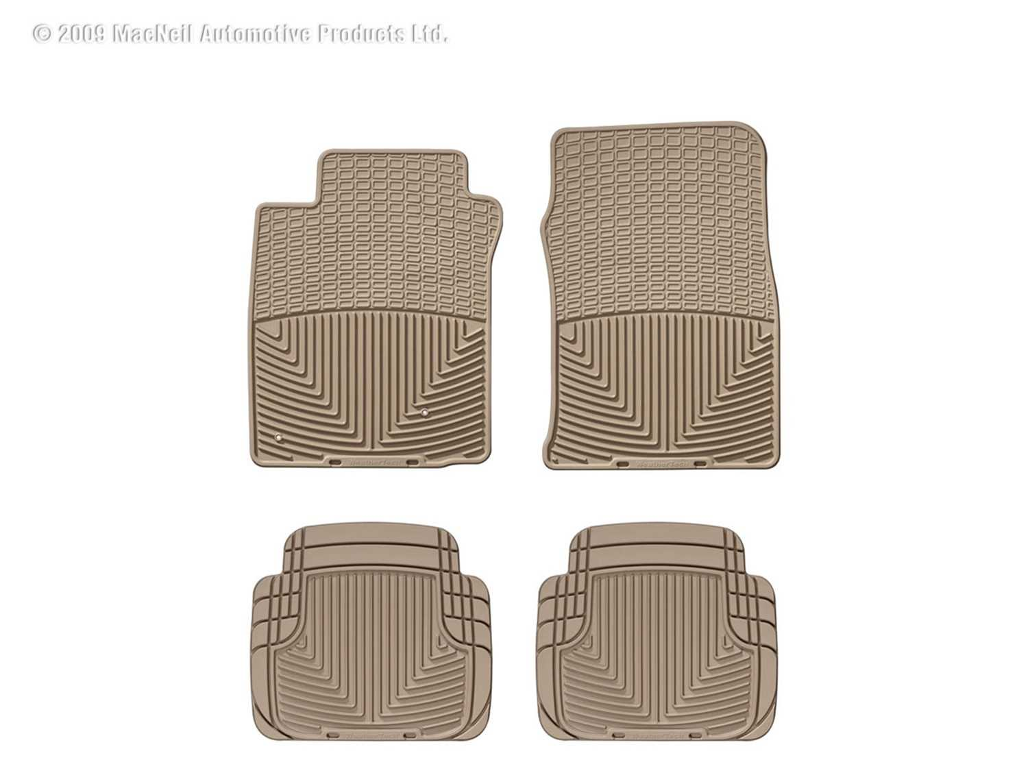 W39TN-W50TN WeatherTech All Weather Floor Mats