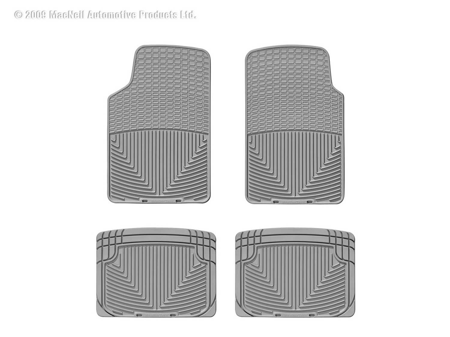 W3GR-W20GR WeatherTech All Weather Floor Mats