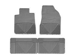 Front//Rear WeatherTech W27GR-W158GR Floor Mat Rubber