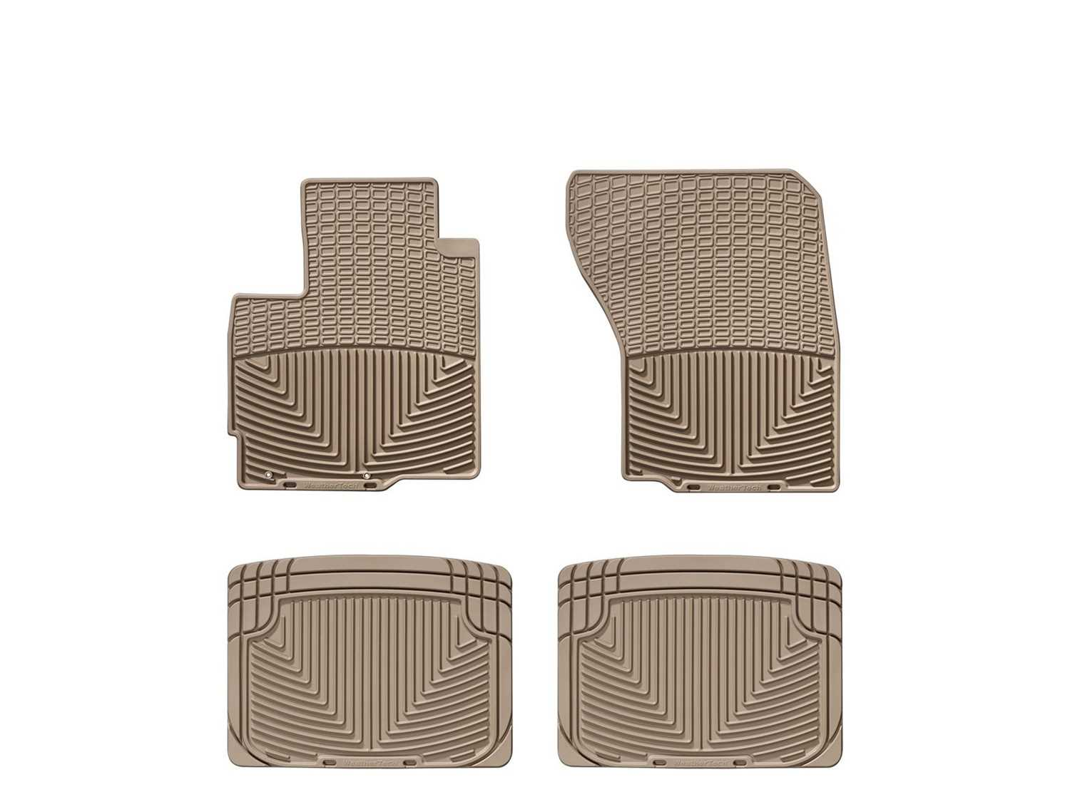 W83TN-W20TN WeatherTech All Weather Floor Mats