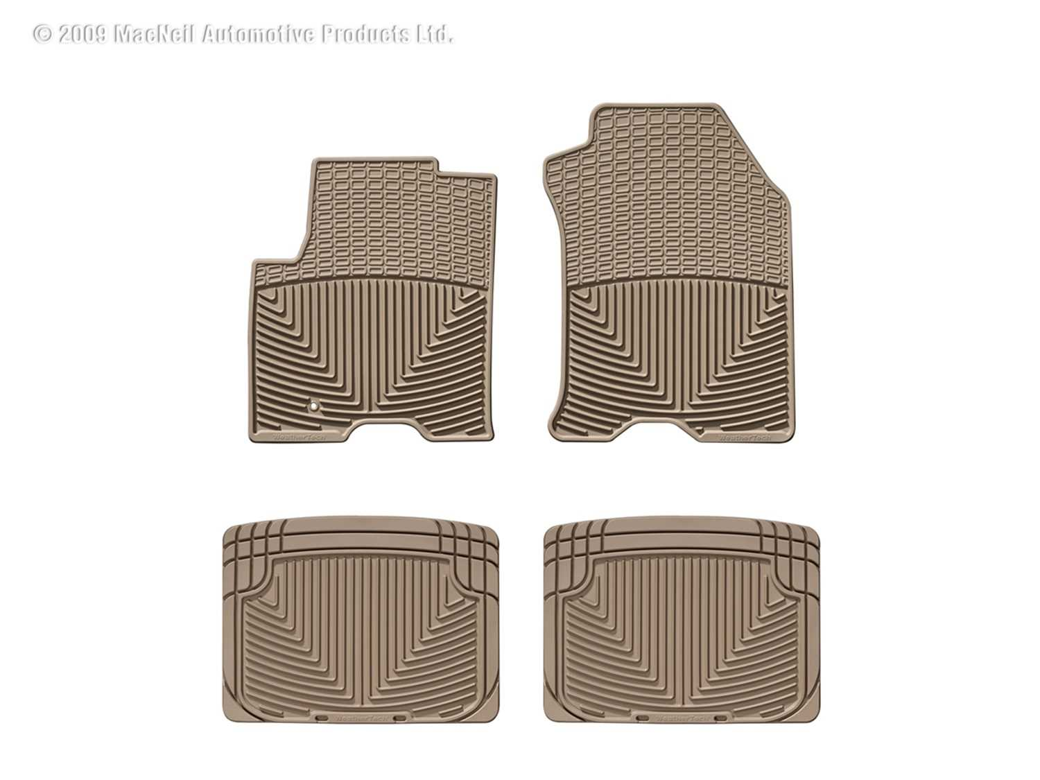 W98TN-W20TN WeatherTech All Weather Floor Mats