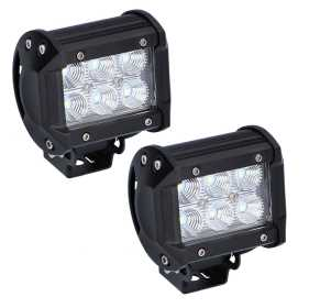 Dual Row LED Cube Lights