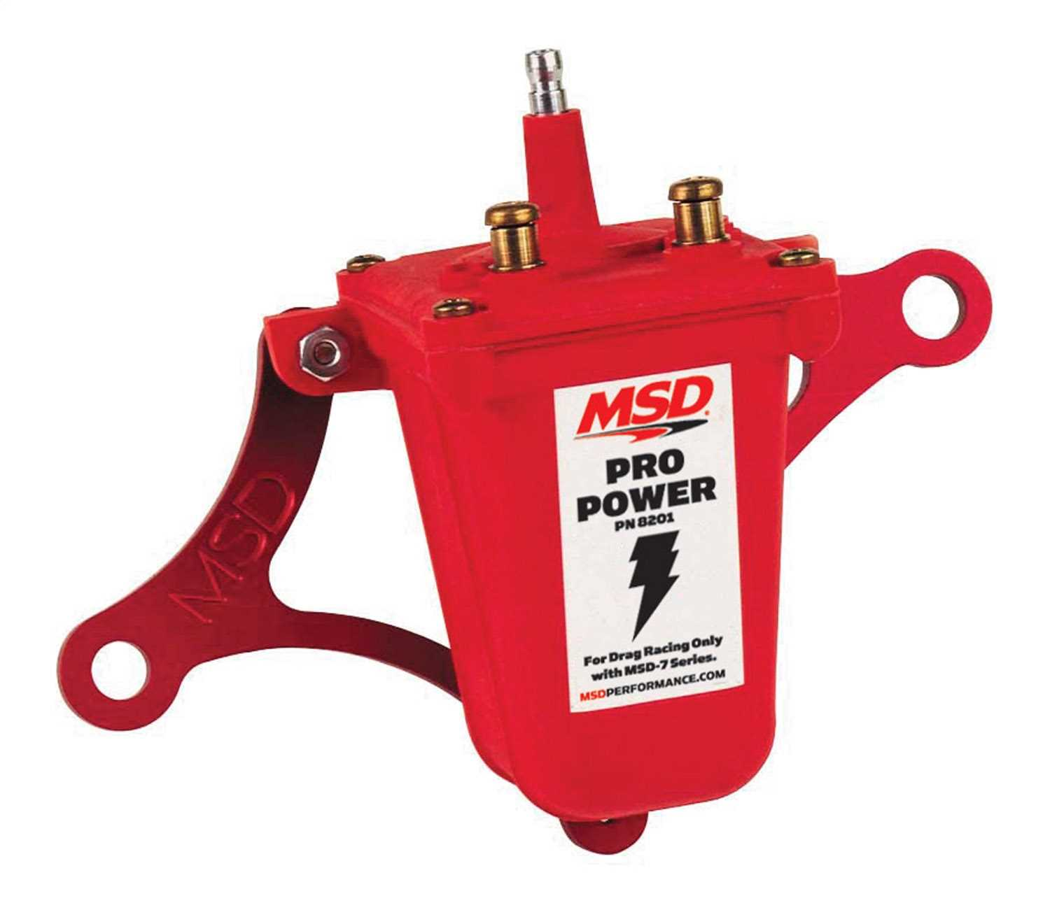 MSD Ignition Pro Power Ignition Coil 8201 8201