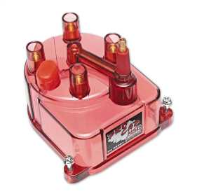 Red Power Cap Distributor Cap