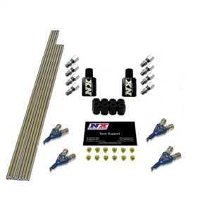 Single Nozzle EFI To Piranha Nozzle Direct Port Conversion Kit