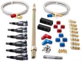 Custom Nitrous Plumbing Intake Manifold