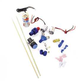 Ntimidator™ Illuminated Dual Blue LED Nitrous Purge Kit