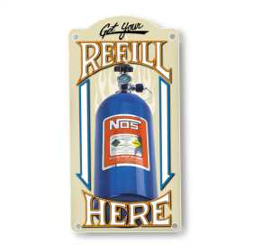 NOS Refill Metal Sign