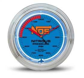 NOS Neon Wall Clock