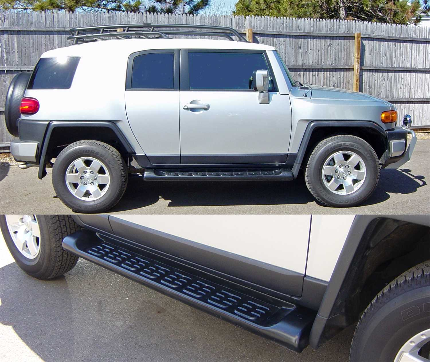 Wheel To Wheel Running Boards >> 68001 Owens Products Owens Factory Custom Tpo Wheel To Wheel Running Boards 68001
