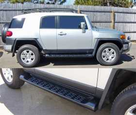 Owens Factory Custom TPO Wheel To Wheel Running Boards