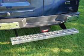 Owens Commercial Cab Length Running Boards Diamond w/o Stone Guard And w/Star Burst Grip