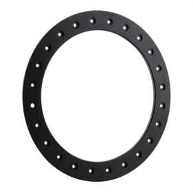 Satin Black Bead Lock Ring