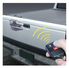 Powergate™ Electronic Tailgate Lock