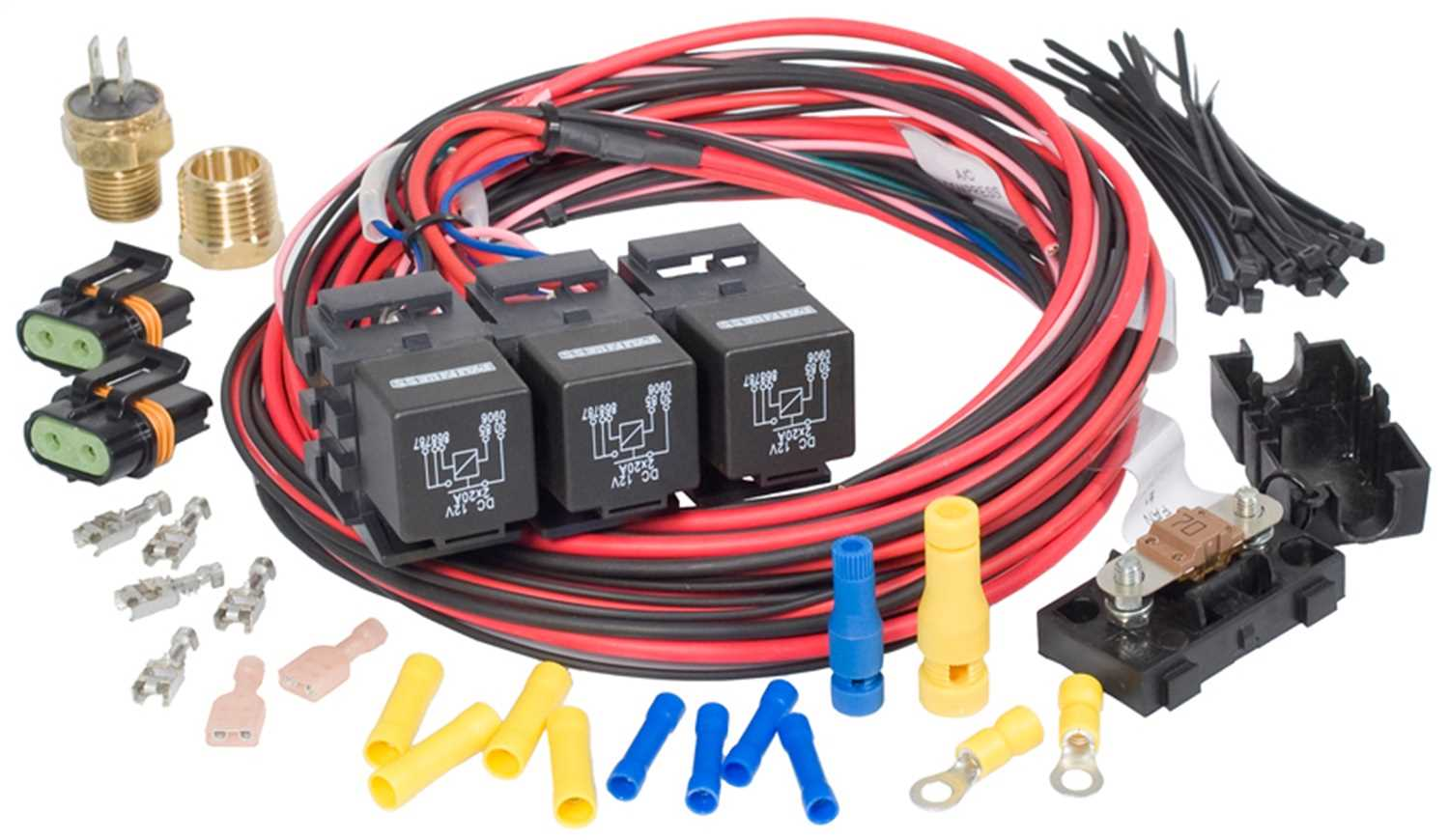 Awesome Dual Activation Fan Relay Tennessee Speed Sport Wiring Cloud Hisonuggs Outletorg