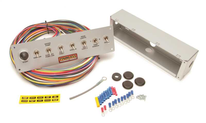 8-Switch Pro Street Panel 50410