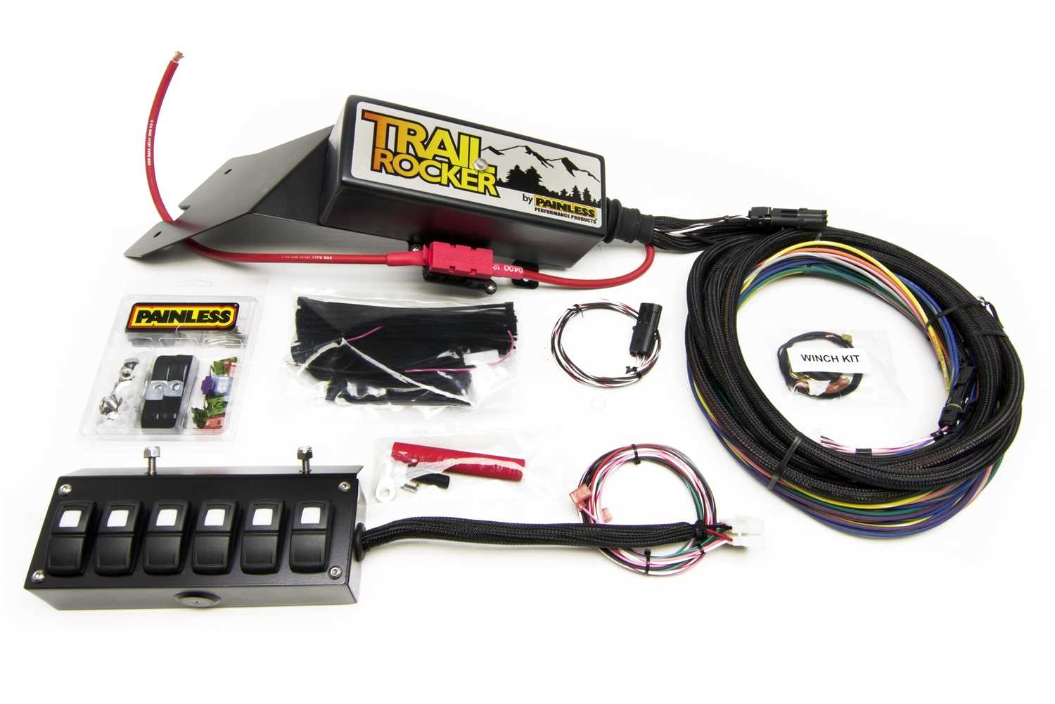 Trail Rocker System Kit Rust Check Painless Wiring Relay 57022