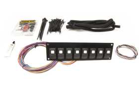 Track Rocker 8-Switch Panel