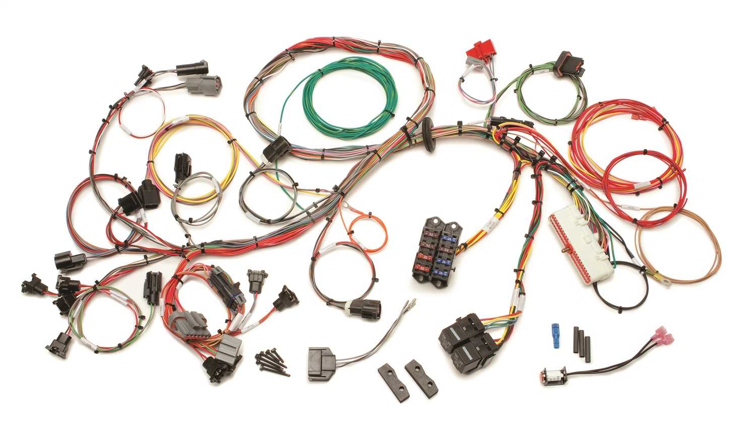 60510 Painless Wiring Fuel Injection Wiring Harness 60510 on 1972 chevy truck harness, radio harness, painless fuse box, front lead dog harness, indestructible dog harness, chevy tbi harness, rover series 3 diesel harness, 5.3 vortec swap harness, bully dog harness, 5 point harness, painless engine harness, horse driving harness, racing seat harness, horse team harness, dodge ram injector harness, duraspark harness, electrical harness, ford 5.0 fuel injection harness, fuel injector harness, car harness,