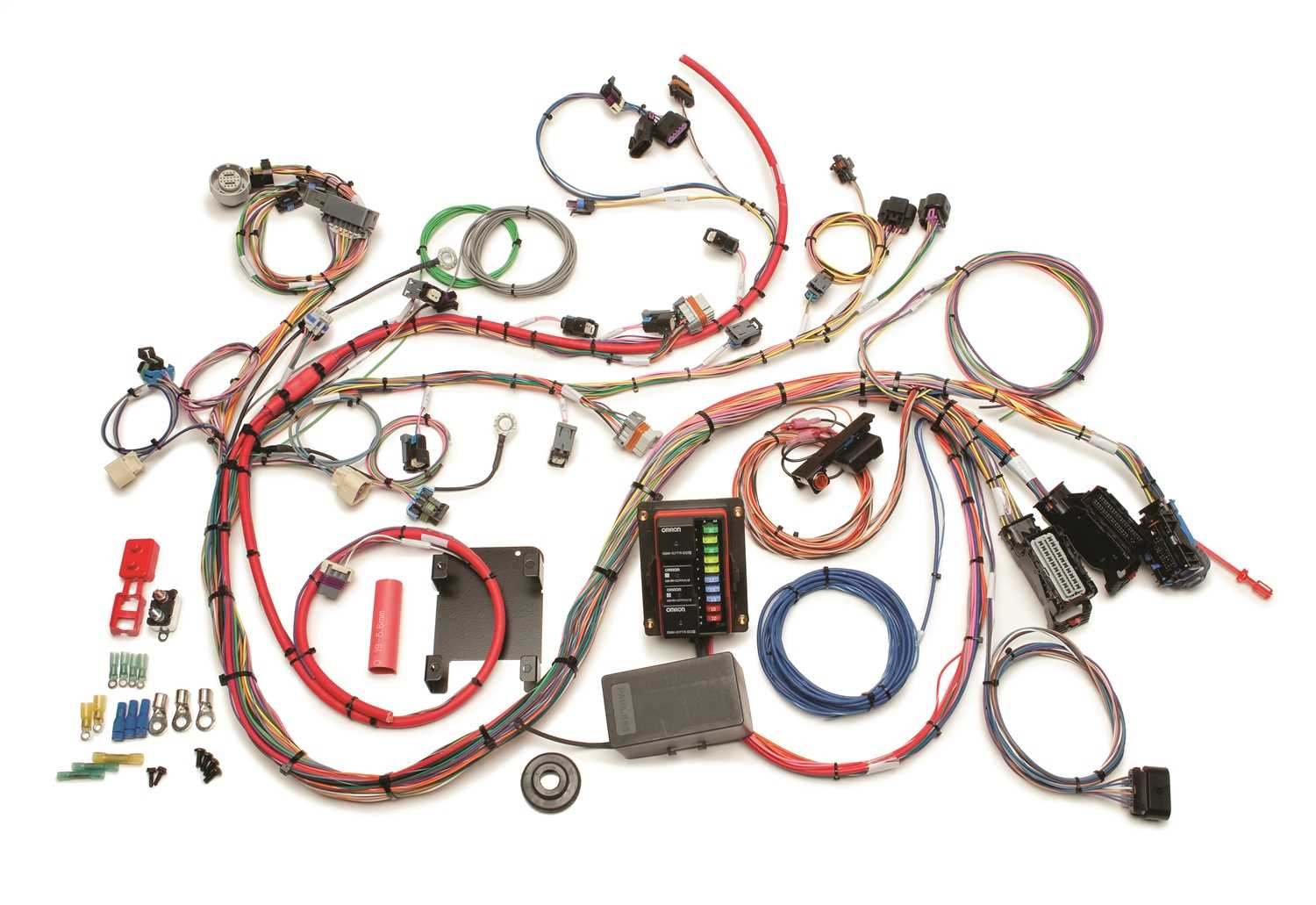 60526 Painless Wiring Engine Wiring Harness 60526 on painless switch panel, painless fuse box, painless lt1 harness,