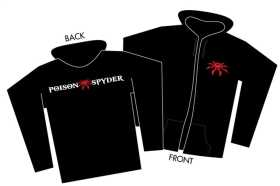 Youth Poison Spyder Logo Zip-Up Hoodie