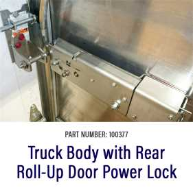 Roll-Up Door Power Lock