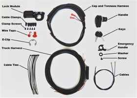 Tonneau Cover Power Lock Kit
