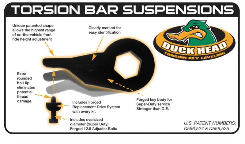 Duck Head Torsion Key 64-1200G