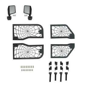 Tubular Spyder Web Doors