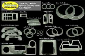 Chrome Interior Trim Accessory Kit