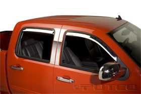 Element Chrome Window Visor In Channel 480056